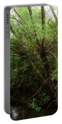 Magical Tree In Forest Portable Battery Charger