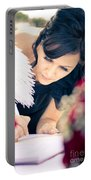 Maid Of Honour Signing Wedding Registar Portable Battery Charger