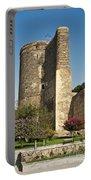 Maidens Tower In Baku Azerbaijan Portable Battery Charger