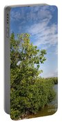 Mangrove Forest Portable Battery Charger by Carol Ailles
