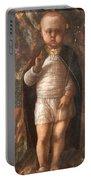 Mantegna's The Infant Savior Portable Battery Charger