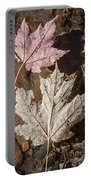 Maple Leaves In Water Portable Battery Charger