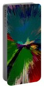 Mardi Gras Abstract Portable Battery Charger