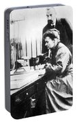 Marie And Pierre Curie Portable Battery Charger