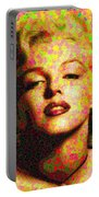 Marilyn Monroe - Maple Leaves Portable Battery Charger