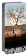 Marsh Tree Reflections Portable Battery Charger
