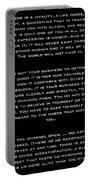 Martha Graham Portable Battery Charger