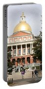 Massachusetts State House - Boston  Portable Battery Charger
