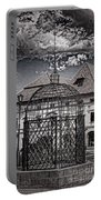 Medieval Cage Of Shame Portable Battery Charger