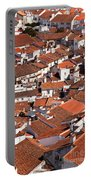 Medieval Town Rooftops Portable Battery Charger by Jose Elias - Sofia Pereira
