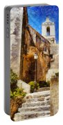 Mediterranean Steps Portable Battery Charger
