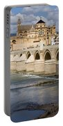 Mezquita And Roman Bridge In Cordoba Portable Battery Charger