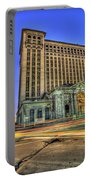 Michigan Central Station Detroit Mi Portable Battery Charger