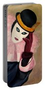 Mime With Thoughts Portable Battery Charger