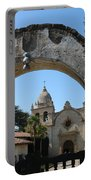 Mission San Carlos Borromeo Del Rio Carmelo Portable Battery Charger