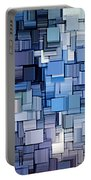 Modern Abstract Vi Portable Battery Charger