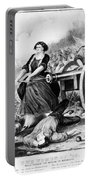 Molly Pitcher (c1754-1832) Portable Battery Charger