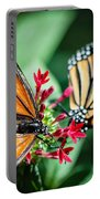 Monarch Danaus Plexippus Portable Battery Charger