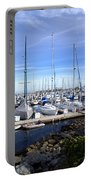 Monterey Harbor California Portable Battery Charger