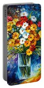 Morning Charm Portable Battery Charger by Leonid Afremov