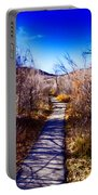 Mountain Creek Path-sundance Utah Portable Battery Charger