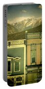 Mountain Town Portable Battery Charger