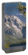 Mt. Moran And Jenny Lake Portable Battery Charger