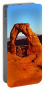 Natural Arch In A Desert, Delicate Portable Battery Charger