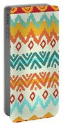 Navajo Mission Round Portable Battery Charger