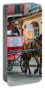 New Orleans - Carriage Ride Portable Battery Charger