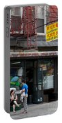 New York Chinese Laundromat Sign Portable Battery Charger
