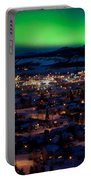 Northern Lights Over Whitehorse Portable Battery Charger