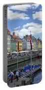 Nyhavn - Copenhagen Denmark Portable Battery Charger