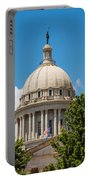 Oklahoma State Capital Dome Portable Battery Charger