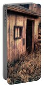 Old Barn Door Portable Battery Charger
