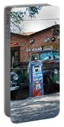 Old Cars On Route 66 Portable Battery Charger