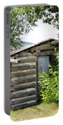 Old Log Homestead Portable Battery Charger
