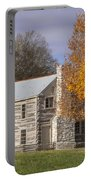 Old Log House Portable Battery Charger