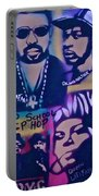 Old School Hip Hop 3 Portable Battery Charger