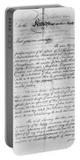 Olive Branch Petition, 1775 Portable Battery Charger