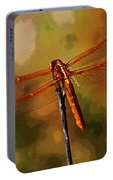 Orange Dragonfly Portable Battery Charger