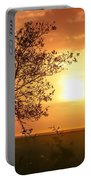 Orange Morning Portable Battery Charger