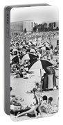 Orchard Beach In The Bronx Portable Battery Charger