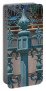 Ornate Fence Portable Battery Charger