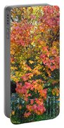 Pallette Of Fall Colors Portable Battery Charger