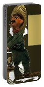 Pancho Villa Puppet Portable Battery Charger