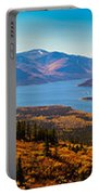 Panorama Of Fish Lake Yukon Territory Canada Portable Battery Charger