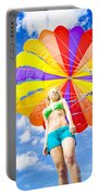 Parasailing On Summer Vacation Portable Battery Charger
