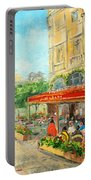 Paris Cafe Portable Battery Charger