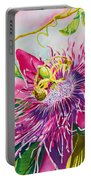 Passionflower Party Portable Battery Charger